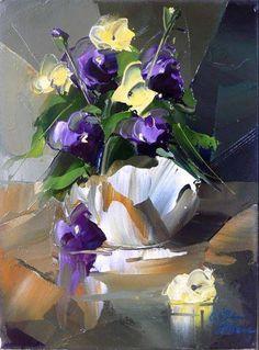 Канадский художник Albini Leblanc Iris Painting, Oil Painting Flowers, Abstract Flowers, Rennaissance Art, Oil Pastel Paintings, Art Oil, Painting Inspiration, Landscape Paintings, Portrait