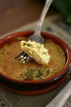 gratin de polenta & courgettes