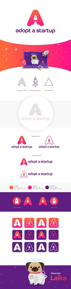 """Check out this @Behance project: """"Logo e Mascote   Adopt a Startup"""" https://www.behance.net/gallery/54446471/Logo-e-Mascote-Adopt-a-Startup"""