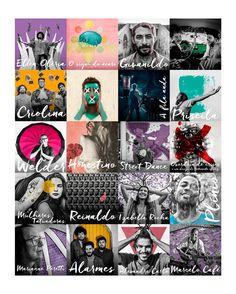 Gifs and cards for Traços' social media