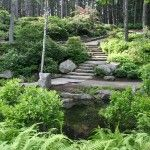 Exceptional stonework is a hallmark of the Gardens at Boothbay Botanical Garden