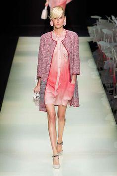giorgio armani primavera verano 2016 semana de la moda de milan