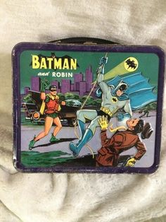 Vintage Aladdin Batman and Robin Metal Lunch Box | eBay