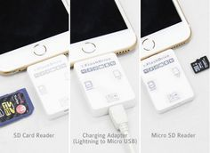 i-FlashDrive II: SD Card Reader for iPhone / iPad