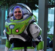 Buzz Lightyear. Cosplay. Toy Story.