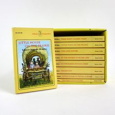 """The """"Little House on the Prairie"""" series by Laura Ingalls Wilder, loved them all! I can't count the number of times i read them!"""