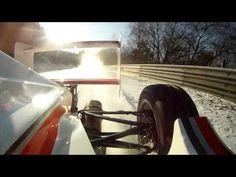 NÜRBURGRING Formula Race Car. ICE and SNOW. NORDSCHLEIFE. GRAND PRIX TRACK. ANDY GÜLDEN.