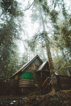 """""""Snoqualmie, Washington by Dylan Kato """" Snoqualmie Washington, Witch Cottage, Forest Cabin, Log Cabin Homes, Log Cabins, Cabins And Cottages, Interior Photo, Cabins In The Woods, Little Houses"""