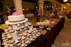 Barra de postres. Candy Bar. Wedding