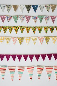 can we put bunting on everything? please?