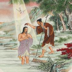 Chinese artwork | ... of Christ. Chinese. 20th century » Chinese Christian painting 10