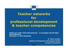 Teacher networks, teacher digital competence and professional devel...