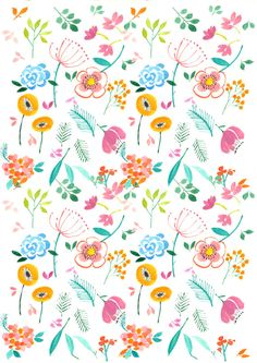 Happy day original fabric one yard by yessweetheart on Etsy, $25.00