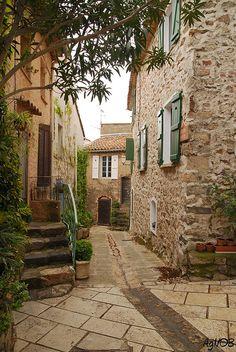 Grimaud, Provence-Alpes-Cote d'Azur, France