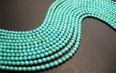 Howlite turquoise 6mm beads full strand 68 pcs by fallinlovegems, $2.79