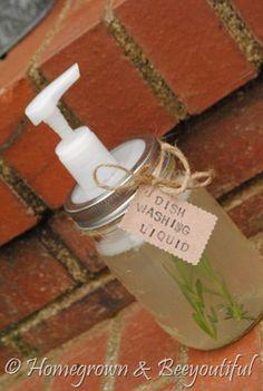 Homemade Dishwashing Liquid