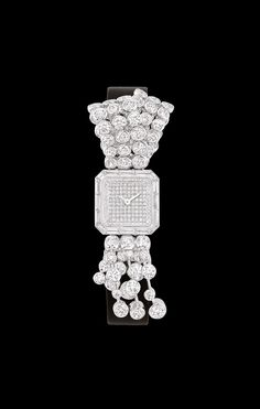 MONTRE EN OR BLANC 18 CARATS ET DIAMANTS - Overview  - CHANEL