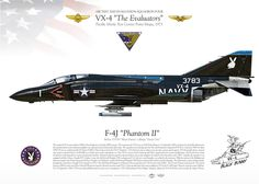 """UNITED STATES NAVY AIR TEST AND EVALUATION SQUADRON FOUR (VX-4) """"The Evaluators"""" Pacific Missle Test Center Point Mugu, 1973"""