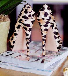 Cheetah heels. #HighHeels #Shoes #Lust #ShoeLust   Visit WISHCLOUDS.COM for more...