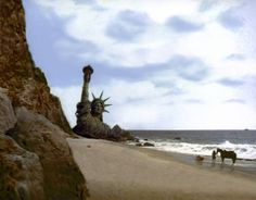 """Planet of the Apes. 1968. Don't see the """"re-imagined"""" Tim Burton version. The original is still the best."""