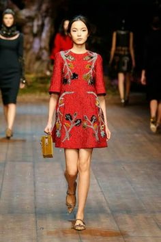 Dolce and Gabbana winter 2015