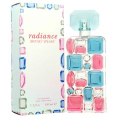 Womens Britney Spears Radiance EDP Spray featuring polyvore, beauty products, fragrance, blue, women's fragrance, flower perfume, spray perfume, britney spears, eau de parfum perfume and eau de perfume