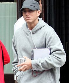 Eminem has taught me that Life gets hard but that does not mean to just give up.  Thanks, Marshall Mathers <3 :) :p