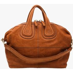 Pre-owned Givenchy Beige calfskin ghw Nightingale Tote ($1,770) ❤ liked on Polyvore featuring bags, handbags, tote bags, beige, pre owned purses, brown tote, givenchy purse, givenchy handbags and givenchy