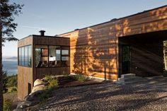 Le-Phare-Residence (4) Elegante y Eficiente de Energía: La Malbaie V Residencia en Quebec