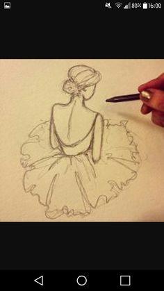 Rysunek baletnica
