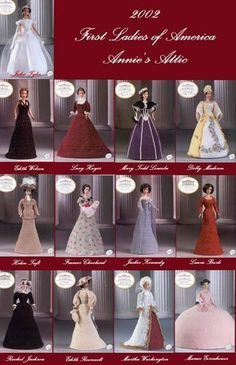 FIRST LADIES OF AMERICA COLLECTION - Wipavanee Batklang - Веб-альбомы Picasa