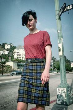 Christiane Felscherinow à Los Angeles, Californie, en février 1982.