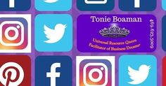 "#regram via @tonieadd . . . ""Social Media Marketing Management logo design or business start up paperwork Tonie Boaman Universal Resource Queen is here to serve you. 469-623-5009 . . #business . #socialmedia . #marketing . #tonieboaman . #digital . #logo . #Howto"""