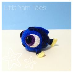Amigurumi Baby Dory - Original Design by Little Yarn Tales