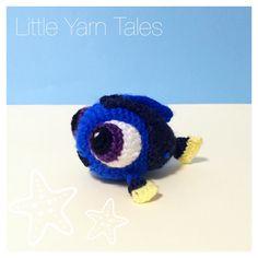 Amigurumi Baby Dory - Original Design by Little Yarn Tales
