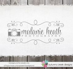 Photography Logo Premade Logo Design Vintage by autumnscreek, $35.00