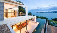 Choeng Mon 4-Bed Luxury Seaview Villa For Sale | Koh Samui Luxury Real Estate