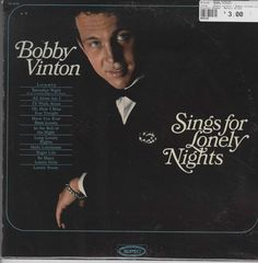 Bobby Vinton - Bobby Vinton Sings For Lonely Nights