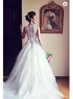 $159--Special Design Bridal Gowns On Sale 2104 Designer Beading Tulle Lace Princess Wedding Dresses