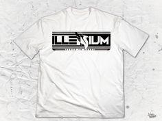 """Illenium """"Phoenix"""" logo Men's Crew Neck"""
