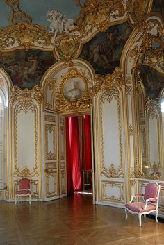 Rococo interior, Hotel de Soubise, Paris | Flickr - Photo Sharing!