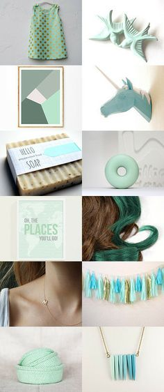 Oh, The places you'll go ! by Dana Shinhorn on Etsy--Pinned with TreasuryPin.com