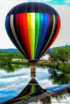 Hot air balloons....