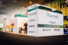 Vision Exhibition stand for Vaporized. Exhibition Stand Design, Building, Exhibition Stall Design, Buildings, Architectural Engineering
