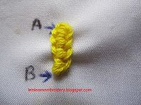 Let's learn embroidery: Double cast-on (basic)