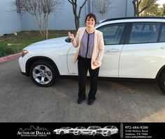 Happy Anniversary to Alicia on your #BMW #X1 from Bryan Roth at Autos of Dallas!  https://deliverymaxx.com/DealerReviews.aspx?DealerCode=L575  #Anniversary #AutosofDallas