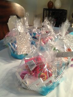Favor bags - princess party