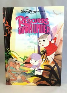 1990 Walt Disney Pictures presents The Rescuers Down Under from RCVintageNKitsch #Disney #Rescuers