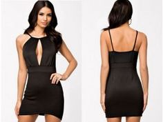 Sexy, Party, Black, Dresses, Fashion, Vestidos, Moda, Black People, Fashion Styles