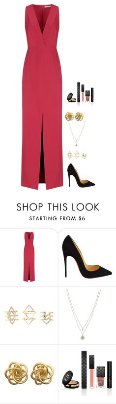 """""""Untitled #552"""" by h1234l on Polyvore featuring Balenciaga, Christian Louboutin, Charlotte Russe, LC Lauren Conrad and Gucci"""
